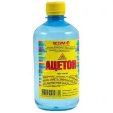 Растворитель  ацетон 0,5л ПЭТ ЯСХИМ