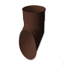 Слив трубы ПВХ Стандарт коричневый