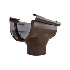Воронка 74 мм ПВХ Стандарт коричневая